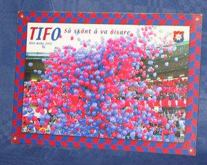 Vykort Tifo 2002 (alt 1) 150*210 mm