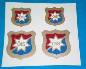 Klistermärke, ÖIS emblem (4st)