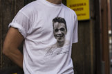 T-shirt vit, Agne Simonsson